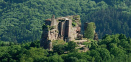 Burg Fleckenstein - Foto: dokape © https://creativecommons.org/licenses/by-sa/3.0/deed.en